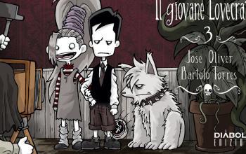 Il giovane Lovecraft 3 di José Oliver e Bart Torres