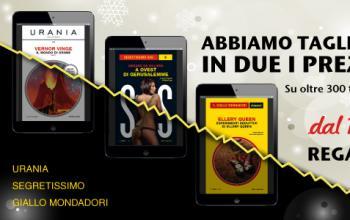 Gli ebook Mondadori a metà prezzo!
