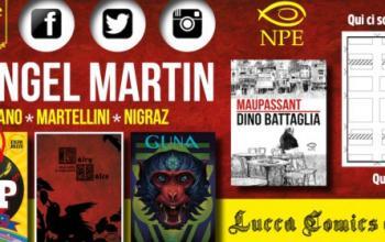 Le novità NPE a Lucca Comics 2016