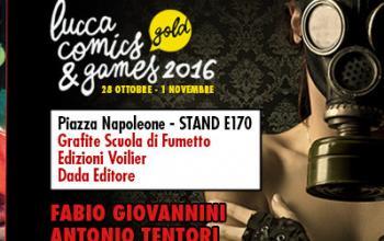Bellissime e perverse di Fabio Giovannini e Antonio Tentori in uscita a Lucca Comics