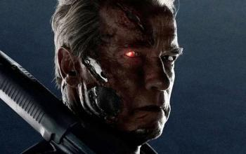 Terminator: Arnold Schwarzenegger impegnato sul set