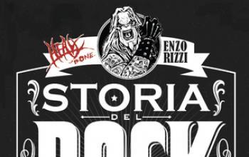 Heavy Bone - La Storia del Rock a Fumetti di Enzo Rizzi