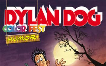 In arrivo Dylan Dog color fest humor!