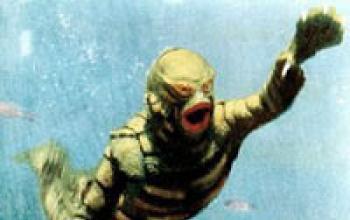 C'è un uomo-pesce nel Mar Caspio