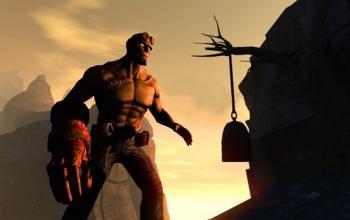 Hellboy su console