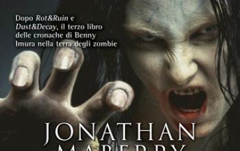 Jonathan Maberry è il Re degli zombie. Vinto l'ennesimo Bram Stoker Award!