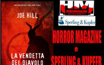 Horror Magazine e Sperling & Kupfer ti regalano Joe Hill!
