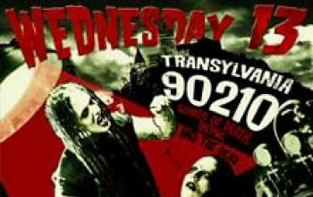 Wednesday 13: horror movies e rock and roll