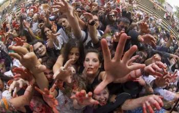 Zombie Walk a Roma