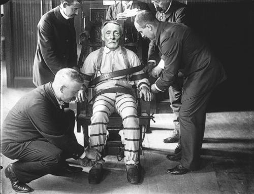 Albert Fish sulla sedia elettrica