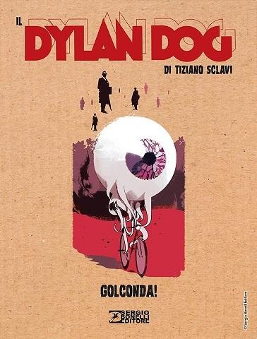 Il Dylan Dog di Tiziano Sclavi, Golconda! Cover