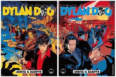 <i>Dylan Dog 371</i><i>Arriva il Dampy</i>r, Cover