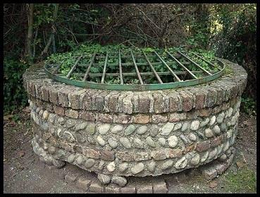 il pozzo dove fu gettata la figlia di Bernabò Visconti
