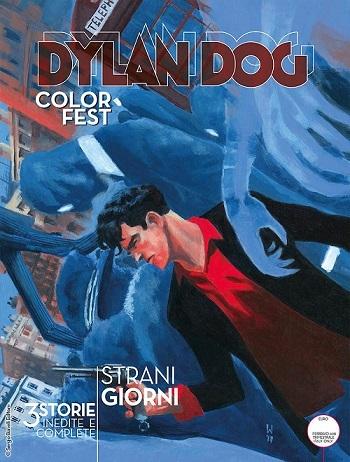 Dylan Dog Color Fest 24,<i>Giorni Strani</i>,Cover