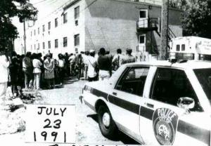 L'appartamento di Dahmer dopo l'arresto