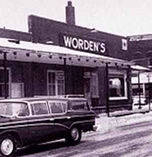 ferramenta Worden's, luogo del primo omicidio