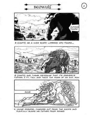 Una pagina dello storyboard
