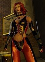 La rossa di Bloodrayne.