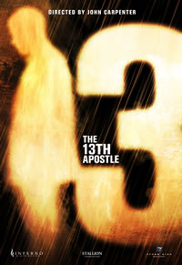 La prima locandina per The 13th apostle.