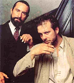 Robert De Niro e Mickey Rourke