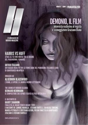 Anteprima volume 1 di H - L'almanacco di Horror Magazine
