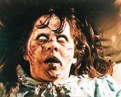 Linda Blair nel film L'Esorcista