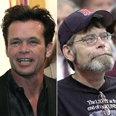 John Mellencamp e Stephen King.