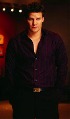 L'attore David Boreanaz.