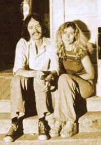 Debra Hill con John Carpenter su set di Halloween