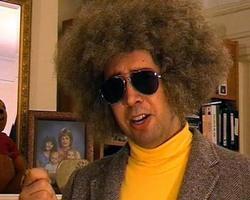 Nulla è più spaventoso di questo parruccone afro...