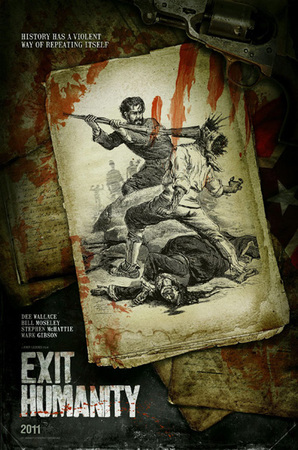 Teaser poster per Exit Humanity
