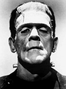 Boris Karloff in Frankenstein del 1931