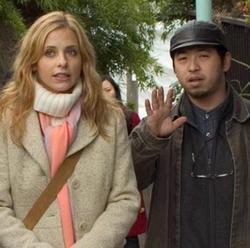 Sarah Michelle Gellar e Takashi Shimizu
