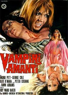 Uno dei film del ciclo di Carmilla, pezzo forte della Hammer che fu.