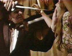 Una raccapricciante scena dall'originale di Herschell Gordon Lewis