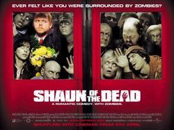 Una delle locandine di Shaun of the dead
