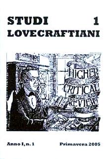 La copertina del primo numero