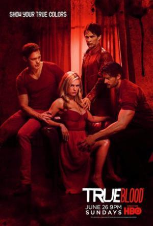 Poster della quarta stagione di True Blood