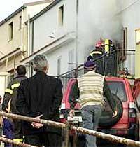 Un incendio a Canneto