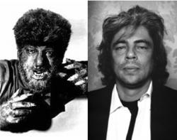Lon Chaney Jr. e Benicio Del Toro