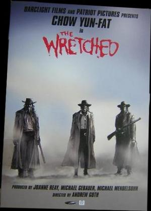 Il poster di The Wretched.
