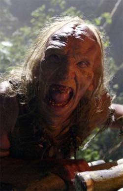 Una creatura di Stan Winston da Wrong Turn