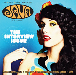 Una foto di Kristen in copertina su Java Magazine