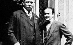 Lo strano incontro tra Conan Doyle e Houdini