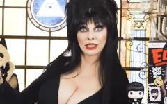 Lo spot di Elvira per promuovere la linea di cereali Funko