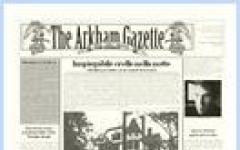 Arkham ha un nuovo giornale locale