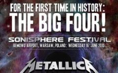 Metallica, Megadeth, Anthrax e Slayer insieme sul palco