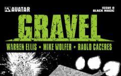 Gravel: la nuova serie a fumetti di Warren Ellis