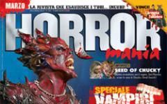 Nocturno e HorrorMania in edicola