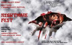 Horror Project Night – Aspettando l'Horror Project Festival